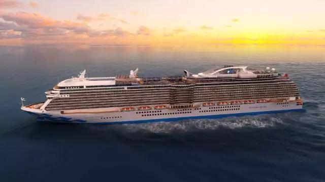 �������� Princess Cruises ʢ�������� Majestic Princess ����61������Һ���ʷʫ֮�ã���������-�Ϻ���2017-05-10�������� �������ǵǴ� ���߱��:771751001