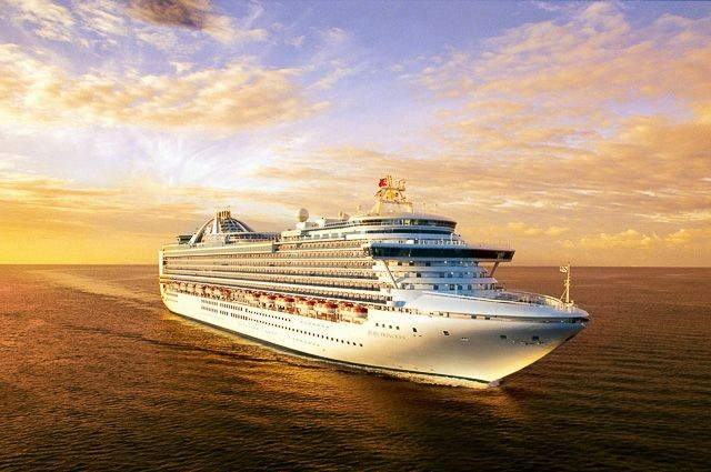 �������� Princess Cruises �ʹڹ����� Crown Princess �����������������������������ֱ�����ӵ��к�+�����������15������������� 2018��9��10�ձ������� ���������ϴ� ���߱��:7718091011