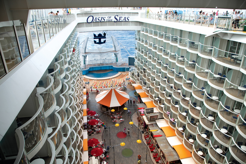 �'Ҽ��ձ����� Royal Caribbean Cruise �������޺� Oasis Of The Seas ���к�+����15����Ⱥ����������� 2019��4��30�ձ������� �������ǵǴ� ���߱��:7719043011