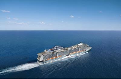MSC ���к����� MSC cruises ���к���ҫ�� MSC Bellissima �ж��ϰݡ��������ȡ����֡�������10���������� 2019��12��6�ձ������� �ϰݵǴ� ���߱��:7719120611