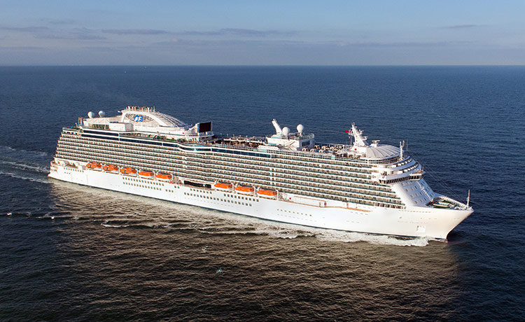 �������� Princess Cruises �ʹڹ����� Crown Princess Ӣ���е�ȫ��17������������� 2019��6��3�ձ������� �ϰ��ն��ϴ� ���߱��:7719060311