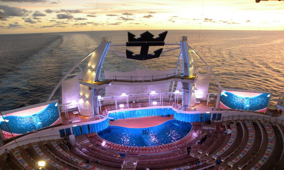 �'Ҽ��ձ����� Royal Caribbean Cruise �������޺� Oasis of the Seas �����������ձȺ�13���������� 2020��1��25�ձ������� �����ܵǴ� ���߱��:7720012511