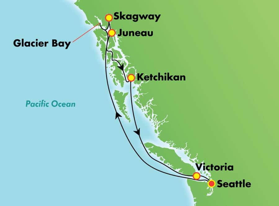 ŵΨ������ Norwegian Cruise Line ���ú� Bliss 7����˹���������� 2020-09-27����ͼ��Seattle���Ǵ� ���߱��:14326331