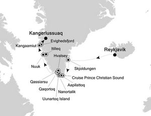 �������� Silversea Cruises ���ƺ� Silver Cloud Expedition 10����������������������� 2018-08-08�׿���δ�ˣ�Reykjavik���Ǵ� ���߱��:18183544