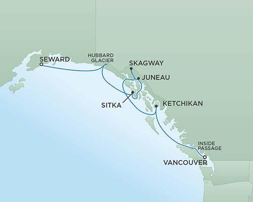 �����ߺ����� Regent Seven Seas Cruises �ߺ�ˮ�ֺ� Seven Seas Mariner 7�������棨Seward�����¸绪�������� 2017-7-05�������棨���ֵ£�������˹���ݵǴ� ���߱��:13118170705