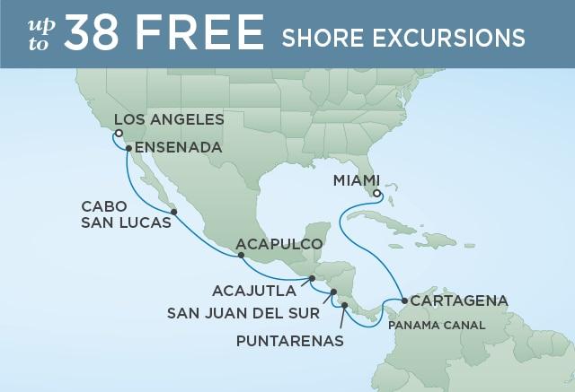 �����ߺ����� Regent Seven Seas Cruises �ߺ�ˮ�ֺ� Seven Seas Mariner 15������-�������˺��������� 2019-09-30��ɼ��Los Angeles��, �����������ݵǴ� ���߱��:1311819930