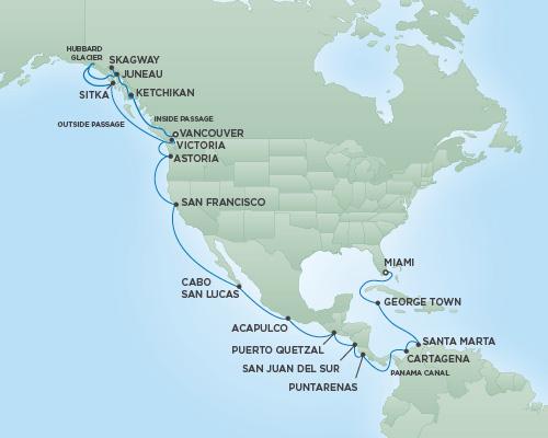 �����ߺ����� Regent Seven Seas Cruises �ߺ��캽�ߺ� Seven Seas Navigator 33�����������ɽ�ɽ�������� 2017-6-17�����ܣ���������ݵǴ� ���߱��:141221706171
