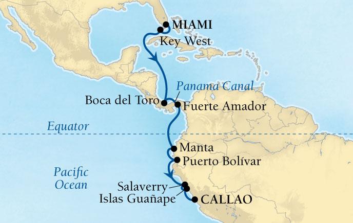 �������� Seabourn Cruise Line ̽���� Quest 15���������ϼ����������� 2018-11-04�����ܣ�Miami���Ǵ� ���߱��:6862