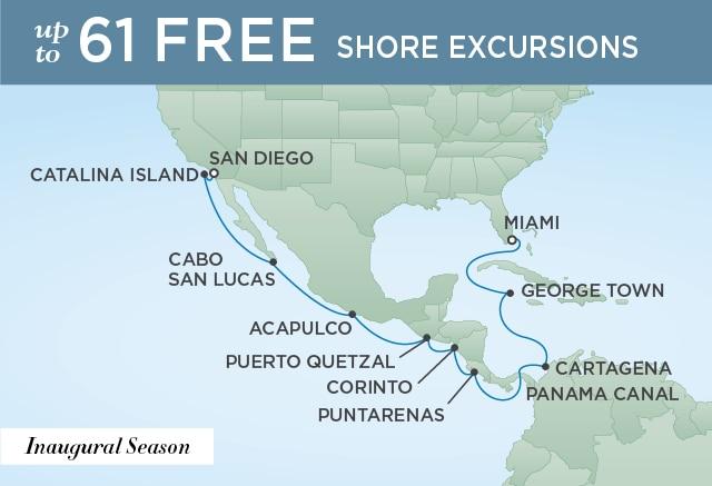 �����ߺ����� Regent Seven Seas Cruises Seven Seas Splendor 16������-�������˺��������� 2020-03-14��ɼ��Los Angeles��, �����������ݵǴ� ���߱��:19161220314