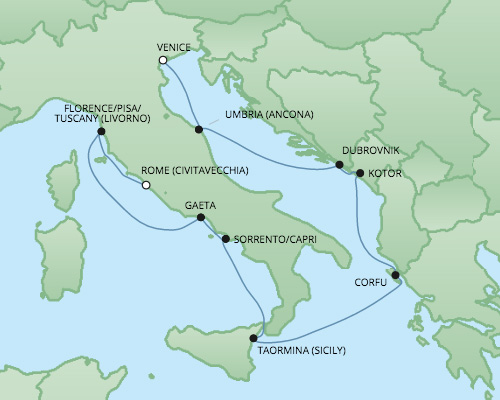 �����ߺ����� Regent Seven Seas Cruises �ߺ������Һ� Seven Seas Voyager 10������(Civitavecchia)������˹�������� 2017-6-28������ά��Τ���ǣ���������Ǵ� ���߱��:221525170628
