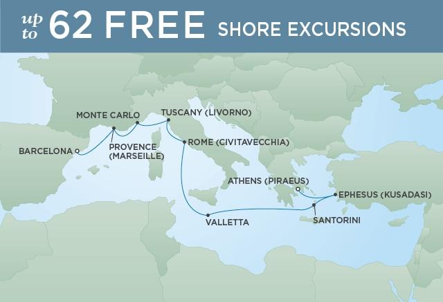 �����ߺ����� Regent Seven Seas Cruises �����ߺ� Voyager ������+����+Ħ�ɸ�+�����+�����+ϣ��13����к��������� 2019��8��18�ű������� �������ǵǴ� ���߱��:77190818113