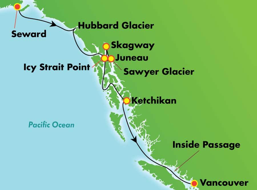 ŵΨ������ Norwegian Cruise Line ��ʯ�� Jewel 7����˹���������� 2020-06-15�ն�£�Seward���Ǵ� ���߱��:14326689