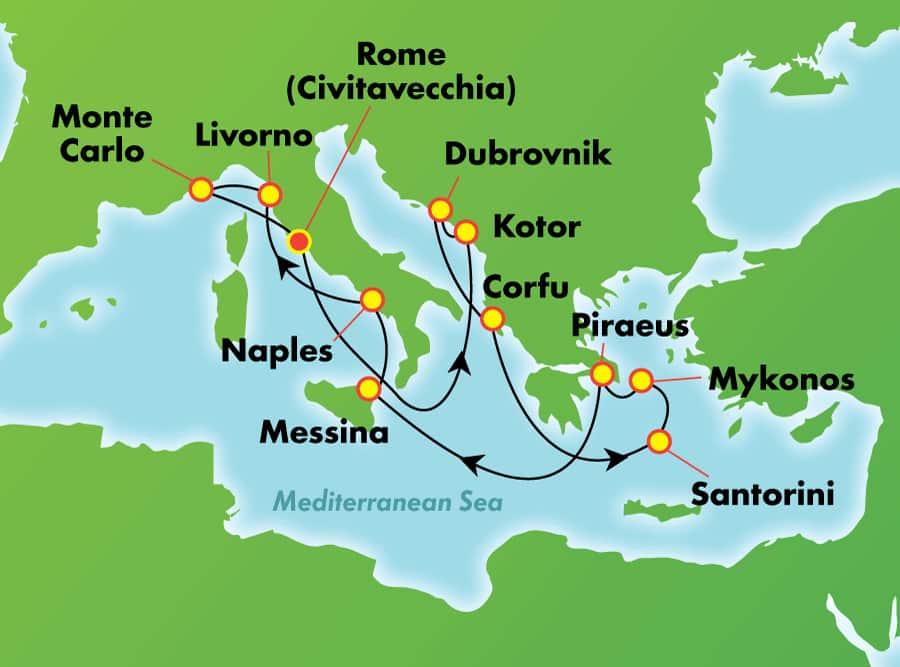ŵΨ������ Norwegian Cruise Line ����� Pearl ���������ɽ�������ǡ�ϣ����Ħ�ɸ�16������к��������� 2019��7��4�ձ������� ���߱��:7719070412